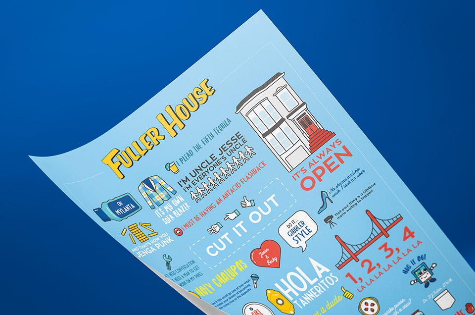 Buy Fuller House Quotes Poster Infographic